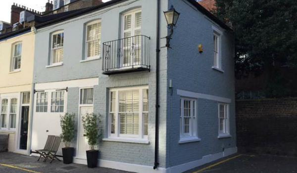 exterior painting london