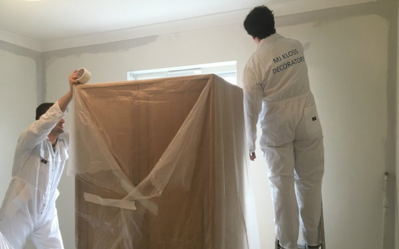 painter and decorator london